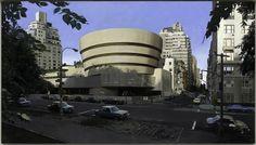 Richard Estes, The Solomon R. Guggenheim Museum, 1979 Hyperréalisme