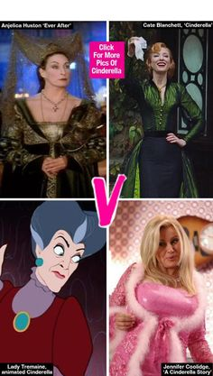 Who is the best Cinderella Evil Stepmother?