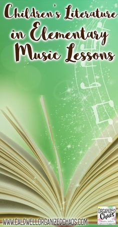 Children's Literature in Elementary Music Lessons. Organized Chaos. 7 different complete lesson plans, each using a different children's book and each teaching specific music skills and concepts. Most are geared towards lower elementary, kindergarten, and preschool, but a few could be used with upper elementary as well.