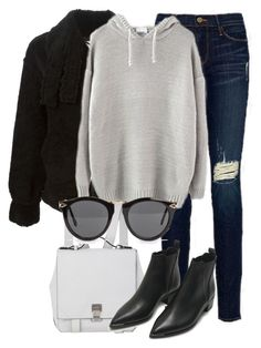 """""""Untitled #2231"""" by rosyfilm ❤ liked on Polyvore featuring Frame Denim, ZoÃ« Jordan, Proenza Schouler, Acne Studios and NLY Accessories"""