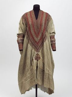 Woman's dress, 1860's, Abyssinia (Ethiopia).