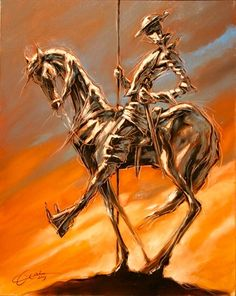 Dali Paintings, Original Paintings, Man Of La Mancha, Dom Quixote, Don Miguel, Heavy Metal Art, Sister Tattoos, Sculpture, Oeuvre D'art