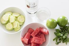 Craving a warm weather drink? Try this delicious and refreshing watermelon cucumber cocktail.
