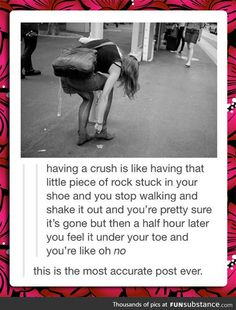 Having a crush perfect description