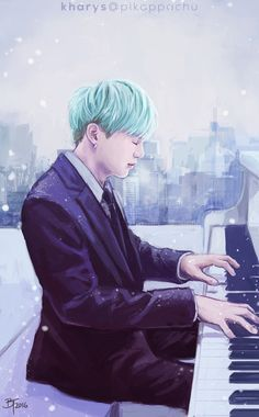 BTS Suga Fanart ♥ OMG I LOVE THIS SO MUCH!! || BTS Min Yoongi a.k.a. Suga