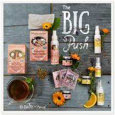 Birth & Baby Kit: Organic Labor, Childbirth, Postpartum and Newborn Infant Gift – Earth Mama Angel Baby