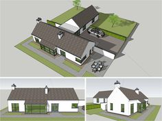 New homes and house extension projects by Edge Architecture - CORK ARCHITECTS including work for Carbery, OPW, Coilte Bungalow Extensions, House Extensions, Cottage Design, House Design, Bungalow Conversion, Cottage Extension, New England Farmhouse, Small Bungalow, Cottage Interiors