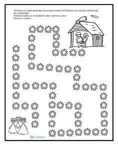 Christmas Worksheets, Church Crafts, Preschool Worksheets, Projects To Try, Sd, Kindergarten, Wizards, Christian, Christmas