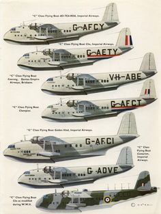 Short Flying Boats