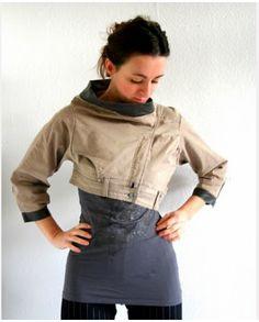 Pants into jacket...interesting