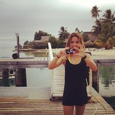 Another day on the Tahiti Summer 2013 shoot with Sally