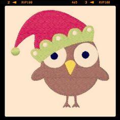 Day 7-Santa (Owl Version)!:)