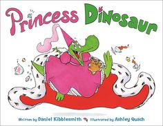 A spirited and expectation-defying story of a heroine who embraces two seemingly opposed aspects of her personality; she's a princess and a dinosaur!