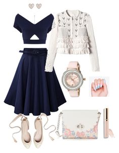 """""""Untitled #5"""" by camila-632 ❤ liked on Polyvore featuring Roland Mouret, New Look, Candie's, Rebecca Taylor and Ted Baker"""