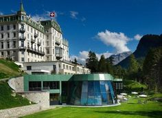 Grand Hotel Kronenhof  Pontresina, Switzerland