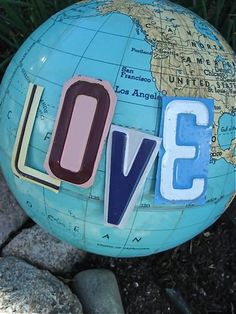 What the world needs now is Love...Sweet Love....