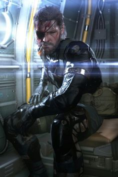 Betrayed. Forgotten. Left to die. And wanted dead. And he still has time to smoke a cigar. Big Boss
