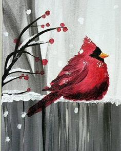 us for a Paint Nite event Mon Feb 2019 at 181 Bay St Toronto, ON. Purchase your tickets online to reserve a fun night out!Join us for a Paint Nite event Mon Feb 2019 at 181 Bay St Toronto, ON. Purchase your tickets online to reserve a fun night out! Christmas Paintings On Canvas, Christmas Canvas, Christmas Art, Xmas, Diy Painting, Painting & Drawing, Watercolor Paintings, Winter Art, Learn To Paint