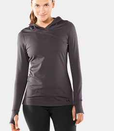 Under Armour EVO Cold Gear Hoodie: For those days when only a light layer is needed, there's the Under Armour EVO Cold Gear Hoodie ($60).