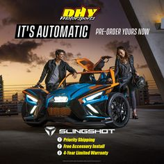 The 2020 takes it to the next level! Now, a new five-speed automatic synchromesh transmission is fitted in all SL AutoDrive and R AutoDrive models. is offering an exciting opportunity now! Polaris Slingshot, New Jersey, Opportunity, Models, Templates, Model, Girl Models, Patterns, Fashion Models
