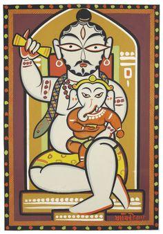 Lord Shiva Painting, Krishna Painting, Krishna Art, Phad Painting, Worli Painting, Madhubani Art, Madhubani Painting, Art Drawings Sketches, Animal Drawings