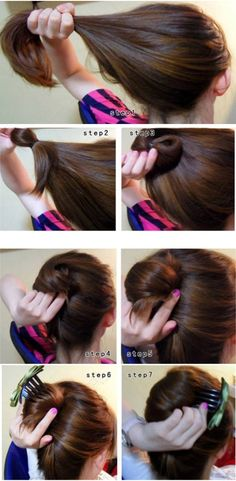DIY Korean hair style
