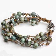 Another bracelet made with The Knotty Do-It-All board. So inspiring!