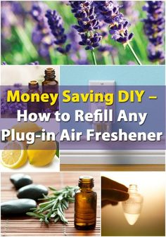 Money Saving DIY - How to Refill Any Plug-in Air Freshener