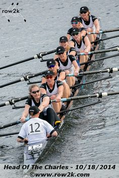 Superstar Molesey Women's Crew Destroys Course Record - Row2k Feature Coverage: Head Of The Charles Regatta
