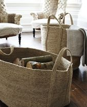 These are my favorite baskets! I have several  and they are both durable and beautiful.