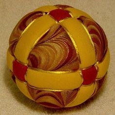 Kimekomi Ball  Golden Walkway by DottiesTemaris on Etsy, $18.50