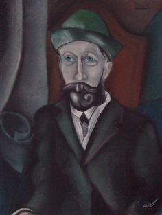 Large Charcoal of Picaso's Painting  by P. Rebog