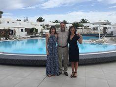 Fernando Gallardo & Sylvia Bustamante Gubbins & Leda Giordano in Nautilus Lanzarote