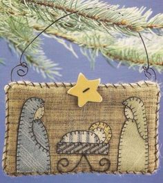 Nativity Quilt Ornament