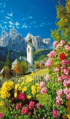 In sunny Dolomiti, Italy. I love Italy it's my dream to live there for at least a year:)