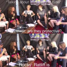 Of course Rocky would say that, he is the biggest fan of #Rydellington