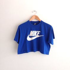 80s vintage Nike crop top tshirt by louiseandco on Etsy, $25.00