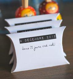 """DIY : un calendrier """"petites boîtes"""" sur Le Grand Bazaar"""
