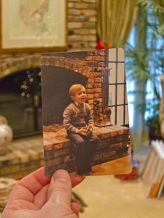 Dear Photograph, New Year's resolutions and 30 years gone by…what was that little boy inside of me thinking about so long ago? I hope I never quit chasing that little boy's dreams. It's what matters.