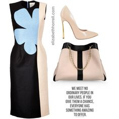 Liz by elizabethhorrell on Polyvore featuring мода, Roksanda Ilincic, Casadei and See by Chloé