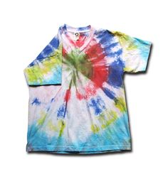 One of my first attempts to tie-dye.