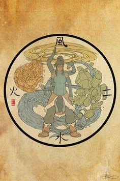 Legend of Korra: Avatar State by Michael Matsumoto