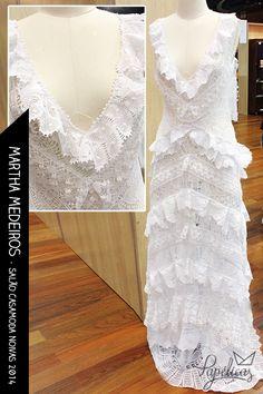 Vestido de noiva rústico by Martha Medeiros #vestidodenoiva #casamento #MarthaMedeiros