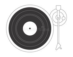 Illustration about Vector illustration of a good old vinyl player. Illustration of drive, illustration, vector - 54193 Good Old, Turntable, Hiphop, Stock Photos, Bedroom, Illustration, Design, Art, Art Background