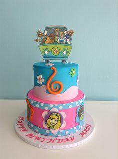Scooby doo Cake - final creation