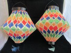 vintage party lanterns
