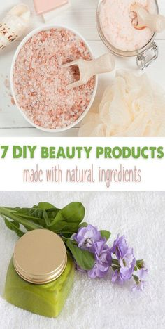 Many conventional beauty products contain harmful chemicals, but these DIY beauty products work just as well and are healthy for your skin! Homemade Deodorant, Homemade Skin Care, Natural Deodorant, Homemade Beauty, Diy Beauty Ingredients, Beauty Products To Make At Home, Diy Products, Healthy Habbits, Make Your Own Makeup