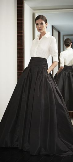 Carolina Herrera. Could never wear in real life but stunning!