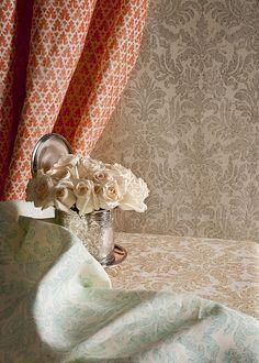 orang, pattern, color, peach, club chairs, ceilings, print, china, curtain