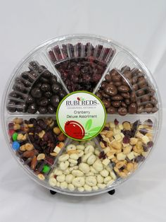 Rubi Reds Cranberry Deluxe Assortment from the Wisconsin Cranberry Discovery Center.  A perfect hostess gift!